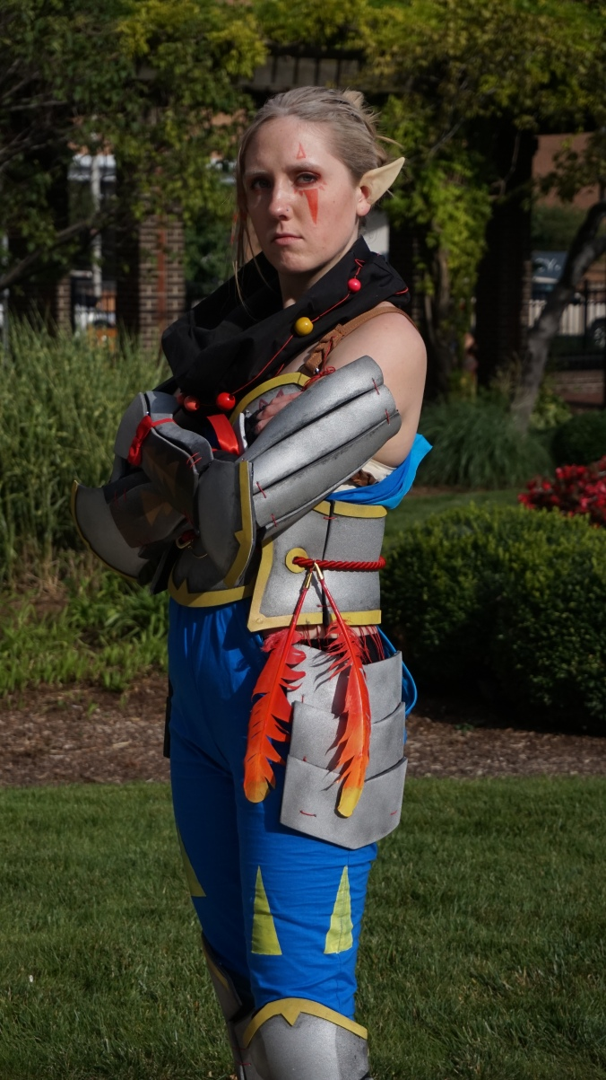 impa, cosplay, costume, hyrule, warriors, legend, of, zelda, gencon, gencon2015, nerd, girl